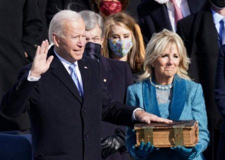 جو بایدن رسما رئیس جمهوری آمریکا شد/ جزئیات مراسم تحلیف