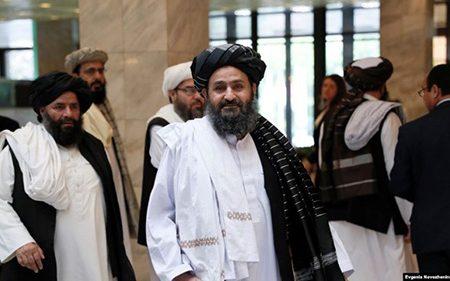 هیأت سیاسی طالبان وارد تهران شد