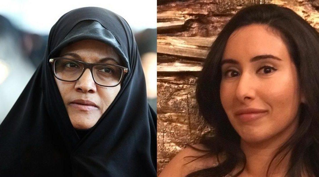 نماینده زن مجلس به دختر حاکم دبی: به ایران بیا تا آزاد باشی