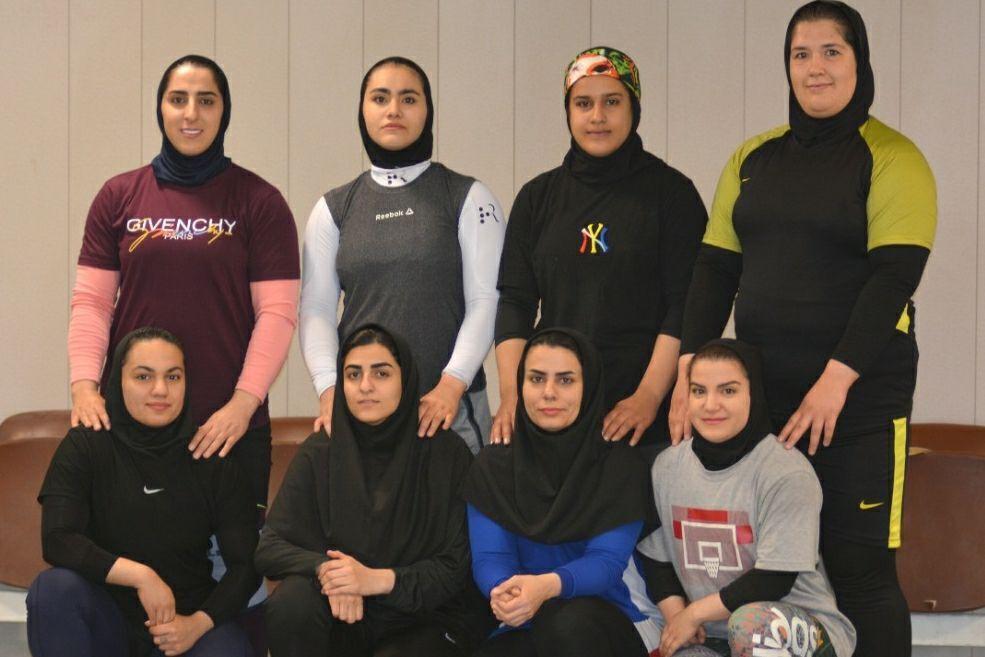 اردوی تیم ملی وزنهبرداری زنان ایران / عکس