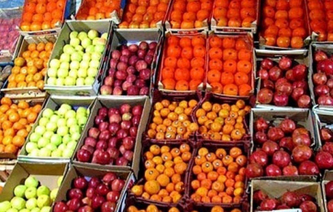 کاهش نسبی قیمت میوه در میادین میوه