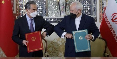 گزارش والاستریت ژورنال از قرارداد ایران و چین