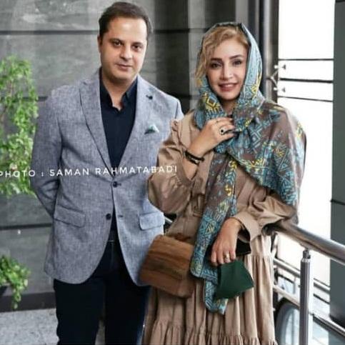 شبنم قلی خانی در کنار همسرش/ عکس