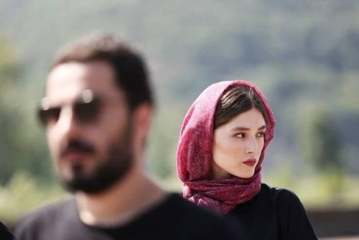پاسخ فرشته حسینى به پیام عاشقانه نوید محمدزاده / عکس