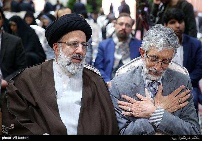 نامهای انتخاباتی حداد عادل به رئیسی