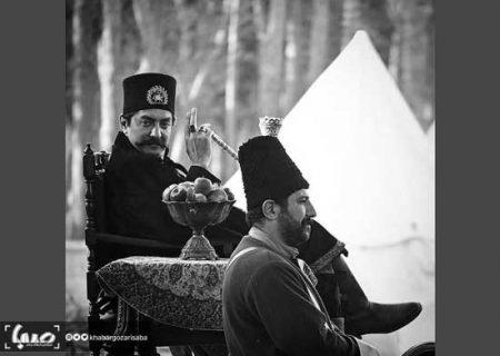 بهرام رادان در نقش ناصرالدینشاه