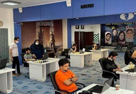 شکست شطرنجبازان ایران بخاطر قطعی برق/ عکس