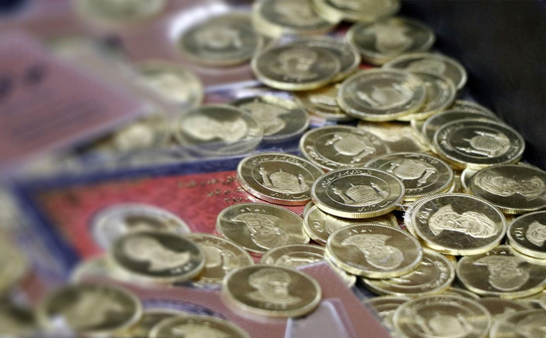 حباب قیمت سکه به ۵۰۰هزار تومان رسید