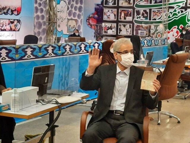 صادق خلیلیان در انتخابات ریاست جمهوری ۱۴۰۰ نام نویسی کرد