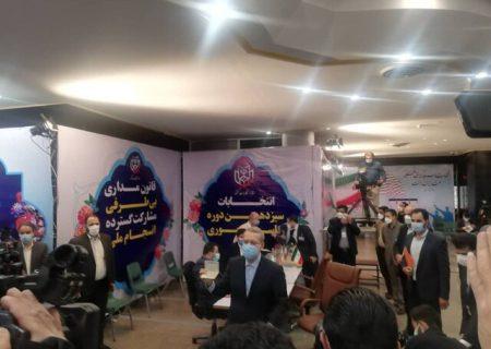 علی لاریجانی نامزد انتخابات ریاست جمهوری ۱۴۰۰ شد/ عکس