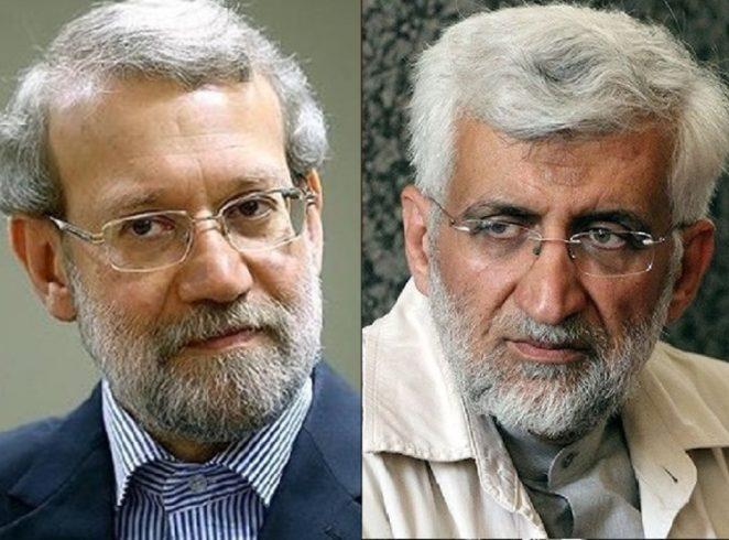 پاسخ تند علی لاریجانی به سعید جلیلی و کنایه به ابراهیم رئیسی