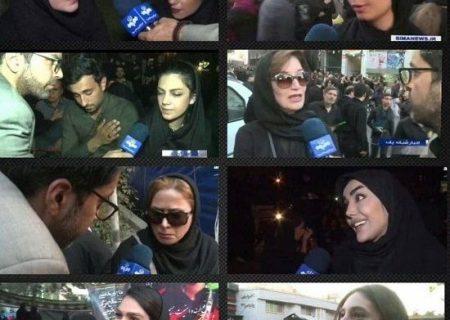 دختران کم حجاب در ایام انتخابات در تلویزیون