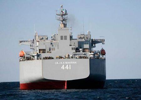 جولان ناوهای جنگی ایران در حیات خلوت ایالات متحده