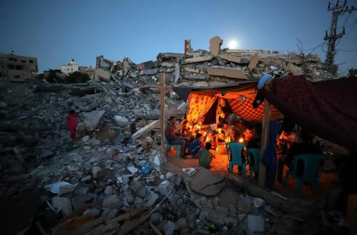 ویرانه حملات هوایی اسراییل به غزه/ عکس