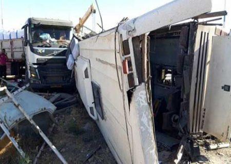 ۵ سرباز معلم قربانی واژگونی اتوبوس