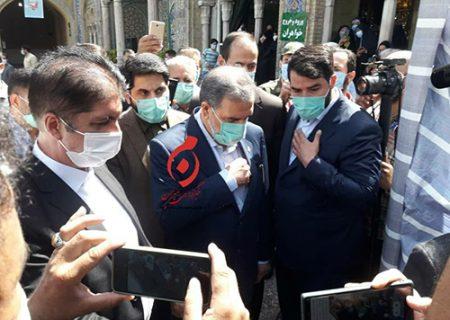 محسن رضایی در حرم عبدالعظیم به خودش رای داد/ عکس