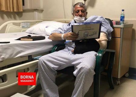 محسن هاشمی در بیمارستان بستری شد/ عکس