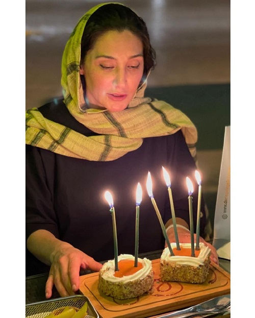جشن تولد ۴۹سالگی هدیه تهرانی / عکس
