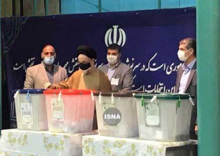 سیدمحمد خاتمی در انتخابات شرکت کرد / تصاویر