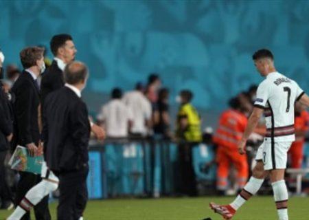 رونالدو هواداران پرتغال را خشمگین کرد/عکس