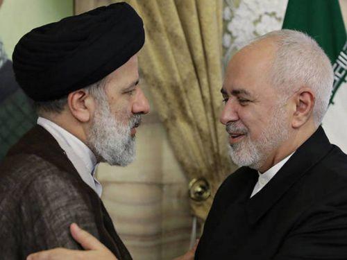 ظریف با رئیسی دیدار کرد