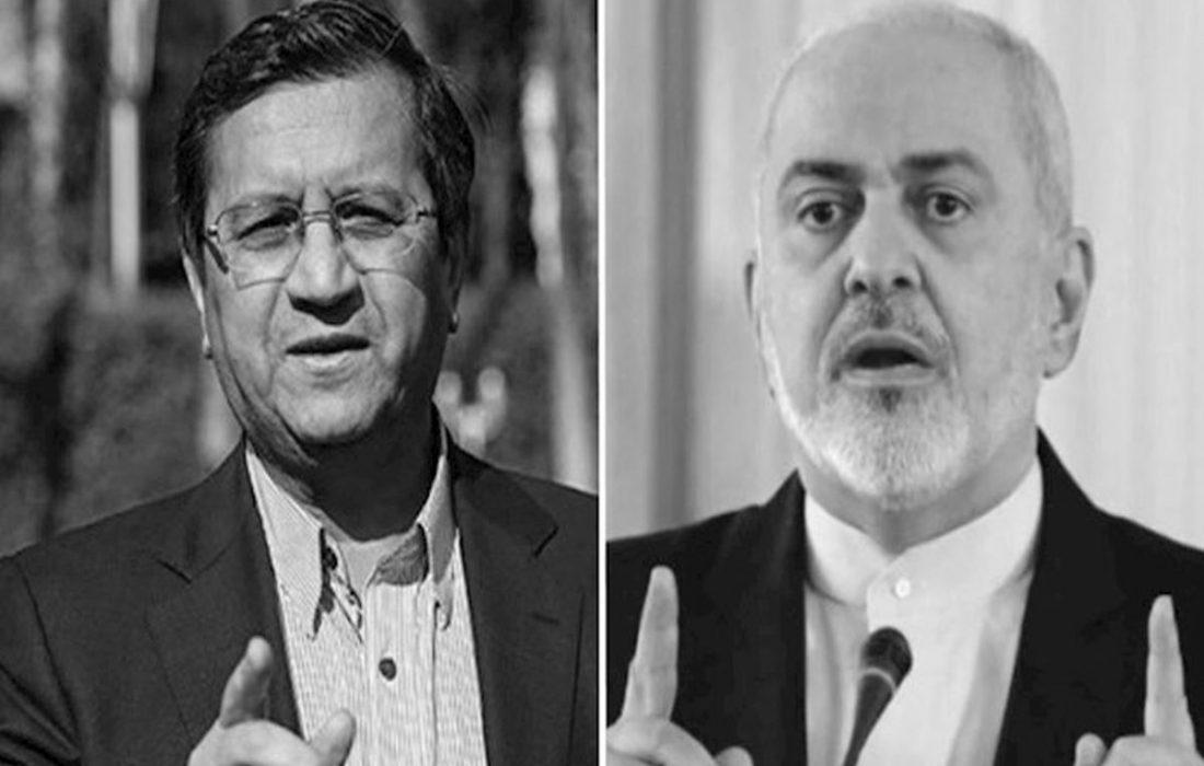 همتی: ظریف حضور در کابینهی من را قبول کرد