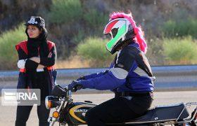 مسابقه موتورسواری بانوان با سیجی ۱۲۵ / عکس