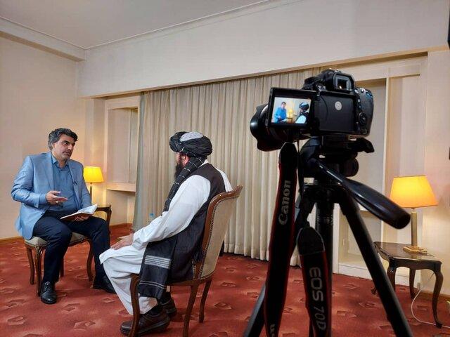 مصاحبه صداوسیما با یکی از رهبران طالبان درباره زنان ، اقوام افغانستانی و نگاه به حکومت