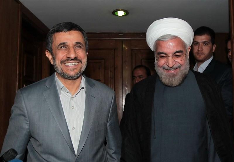 نامه احمدینژاد به روحانی