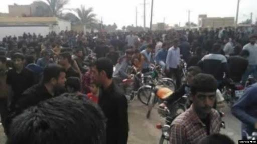 مرگ یک جوان در اعتراضات شادگان