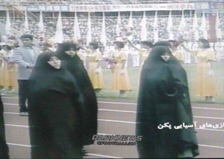 رژه زنان ایرانی با چادر در بازیهای آسیایی پکن /عکس
