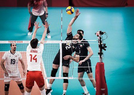 پیروزی تاریخی والیبال ایران مقابل قهرمان جهان