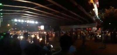 برگزاری تجمع اعتراضی در کرج
