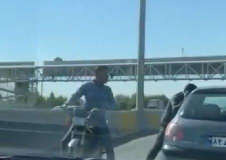 زورگیری اتوبان کرج تهران از مصادیق محاربه