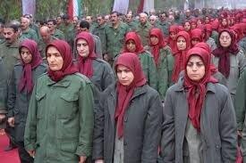 پخش تصاویری از مقر گروهک منافقین