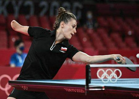 زن شگفت انگیز المپیک توکیو / عکس