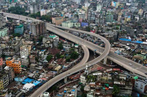 خیابان های خالی بنگلادش از بیم گسترش کرونا/ عکس