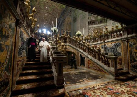 زیرزمین کاخ واتیکان / عکس