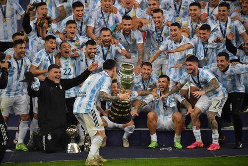 قهرمانی آرژانتین با شکست برزیل/ عکس