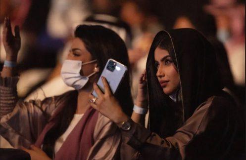 برگزاری کنسرت در جده عربستان/ عکس