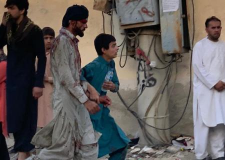 انفجار شدید در نزدیکی فرودگاه کابل /عکس