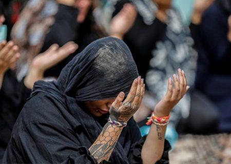 عزاداری و تعزیهخوانی در زندان زنان /عکس