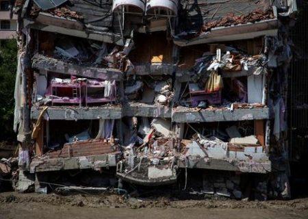 صدمات شدید سیل در ترکیه/ عکس