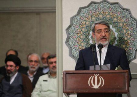 گزارش وزیر کشور از انتخابات ریاست جمهوری در مراسم تنفیذ ابراهیم رئیسی