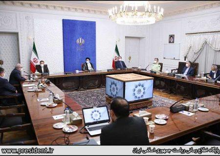 اولین جلسه رسمی رئیس جمهور رئیسی/ عکس
