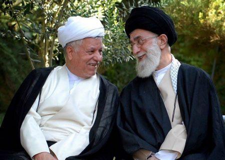 رهبر انقلاب: صدای آقای هاشمی ضبط است که گفت فلانی استدلال هایی درباره مذاکره با آمریکا دارد