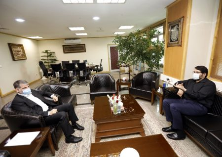 دیدار ساداتی نژاد وزیر جهادکشاورزی با بذرپاش رئیس دیوان محاسبات