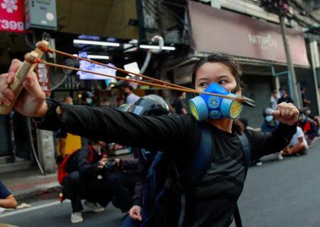 اعتراضات کرونایی در تایلند/ عکس