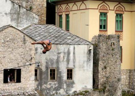 مسابقات شیرجه در بوسنی و هرزگوین/عکس