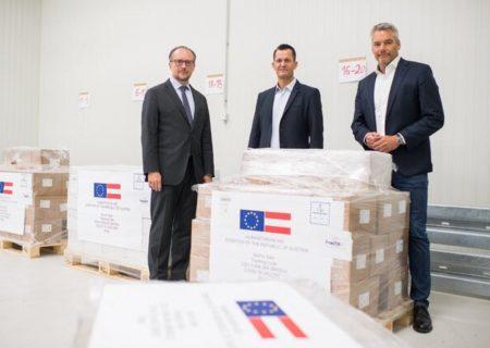 اهدای یک میلیون دوز واکسن آسترازنکا توسط اتریش به ایران